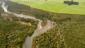 Wairapa-Fluss Lizenzfreies Stockbild