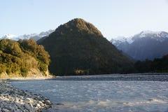 Wairau flod arkivbild