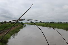 The Waisel River of manipur Stock Photo