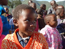 Waisen in Kijabe Stockfoto
