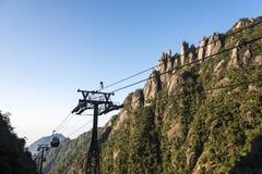 Waishuangxi ropeway Stock Photography