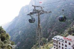 Waishuangxi ropeway stock photos
