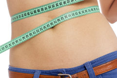 Waist measure Royalty Free Stock Photography