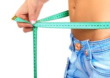 Waistline Royalty Free Stock Photos