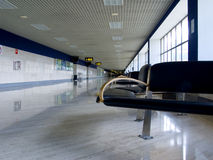 Wait. Airport hall royalty free stock images