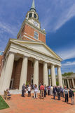 Wait Chapel at Wake Forest University Royalty Free Stock Photo