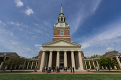 Wait Chapel at Wake Forest University Stock Images