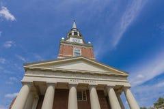 Wait Chapel at Wake Forest University. On April 18, 2015 in Winston-Salem, North Carolina Royalty Free Stock Image