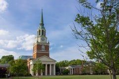Wait Chapel at Wake Forest University Royalty Free Stock Photo