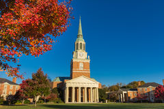 Wait Chapel at WFU Stock Image