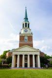 Wait Chapel at WFU Royalty Free Stock Photos