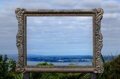 Waitakere områden - Nya Zeeland Royaltyfri Foto