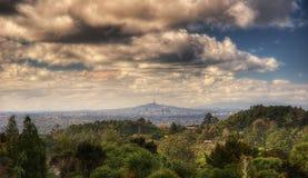Waitakere strekt zich Regionaal Park Nieuw Zeeland uit stock afbeeldingen