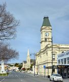 Waitaki District Council Building in Oamaru, New Zealand stock photography