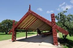 Waitangi fördragjordning Arkivfoton