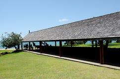 Waitangi fördragjordning Arkivbilder