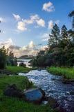 Waitangi Falls. Near to Auckland city, at east coast Stock Images