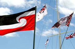 Waitangi Tag und Festival - gesetzlicher Feiertag 2013 Neuseelands stockfotografie