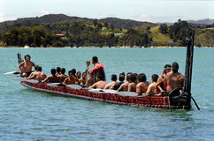 Waitangi Tag und Festival - gesetzlicher Feiertag 2013 Neuseelands stockbilder
