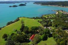 Waitangi Treaty Grounds. Bay of Islands, New Zealand Royalty Free Stock Photo