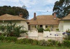 Waitangi treaty house. Waitangi, New Zealand Royalty Free Stock Images