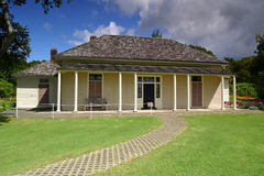 Waitangi Treaty House. The site of the signing of the Treaty Of Waitangi in 1840 Royalty Free Stock Photography