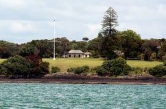 Waitangigronden bij de Baai van Eilanden Nieuw Zeeland Stock Afbeeldingen