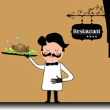 Waiter Royalty Free Stock Images