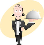 Waiter Royalty Free Stock Photography