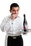 Waiter or Bartender Royalty Free Stock Image