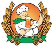 Waiter beer Stock Image