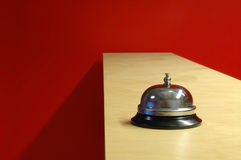 Waiter bell (horizontal) Stock Image