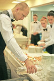 A waiter Royalty Free Stock Photos