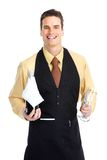 Waiter man Royalty Free Stock Photography