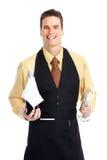 Waiter man Royalty Free Stock Photography