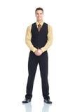Waiter man Royalty Free Stock Image