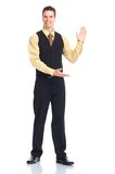 Waiter man Royalty Free Stock Photo