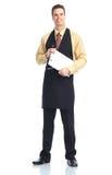 Waiter man Stock Photo