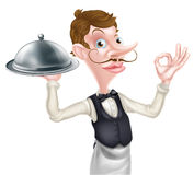 Waiter Perfect Sign Stock Images