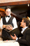 Waiter taking orders Stock Photos