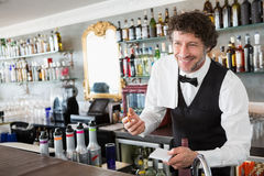 Waiter taking order Royalty Free Stock Photo