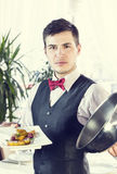Waiter Royalty Free Stock Photo