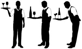 Waiters Stock Images