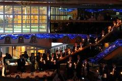Waiters singing ceremony Stock Image