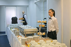 Waiters work Stock Photography