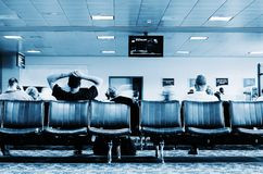 Waiting area Stock Photos