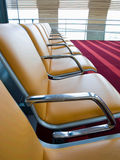Waiting area in airport Stock Image