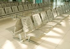Waiting area of airport Stock Photography