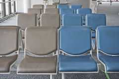 Waiting Area in the Airport. Royalty Free Stock Image