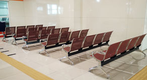 Waiting area at the Bus Station in Kuala Lumpur Royalty Free Stock Photos